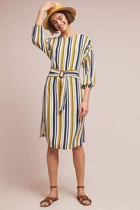 Seen Worn Kept Breanne Striped Midi Dress