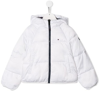 Tommy Hilfiger Junior padded puffer jacket