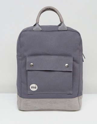 Mi-Pac Mi Pac Tote Backpack in Charcoal-Grey