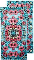 Dohler Hibiscus Festival Beach Towels (Set of 2)