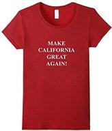 Women's Make California Great Again T-Shirt Small