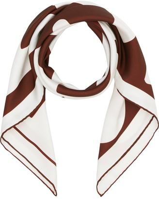Burberry Archive logo print scarf