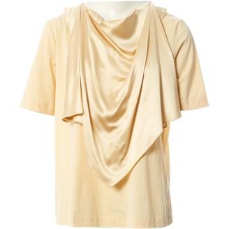 Joseph Yellow Cotton Top for Women