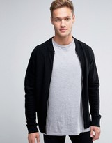 Jack and Jones Slim Zip Knit Bomber