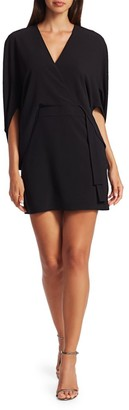 Halston Draped Mini Dress