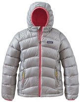 Patagonia 'Hi-Loft' Hooded Down Jacket (Little Girls & Big Girls)