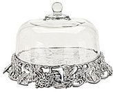 Arthur Court Grape Cake Tray with Dome