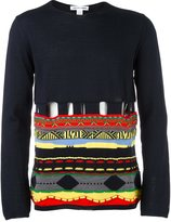 Comme des Garcons patterned jumper - men - Acrylic/Wool - S