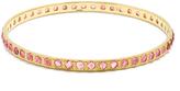 Irene Neuwirth Tourmaline & yellow-gold bangle