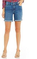NYDJ Avery Roll-Cuff Shorts