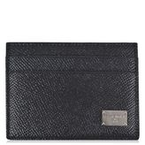 Dolce And Gabbana Dauphine Leather Cardholder