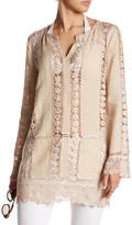 Calypso St. Barth Zerene Linen Shirt