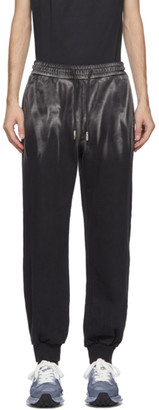 Feng Chen Wang Black Tie-Dye Lounge Pants
