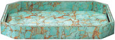 """Jamie Young 18"""" Octave Tray - Turquoise Pebble"""