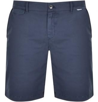 Calvin Klein Slim Fit Logo Chino Shorts Navy