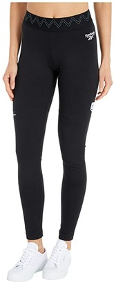 Reebok Gigi X Leggings (Black) Women's Casual Pants