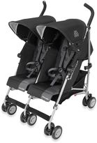 Maclaren Twin Triumph Double Stroller in Black/Charcoal
