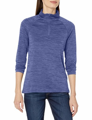 Charles River Apparel Women's Space Dye Moisture Wicking Performance Pullover