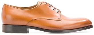Giorgio Armani almond toe Derby shoes
