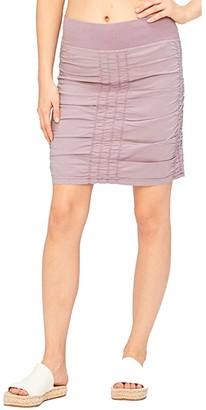 XCVI Solid Trace Skirt (Glacial Pigment) Women's Skirt