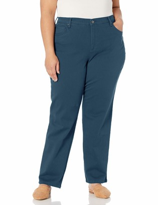 Gloria Vanderbilt Women's Size Amanda Classic High Rise Tapered Jean