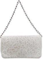 Chanel Metallic Camellia Shoulder Bag