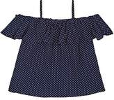 Little Remix Kids' Polka Dot Popover Blouse