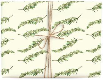 Lana's Shop Set of 3 Fir Branch Gift Wrap
