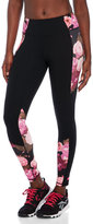 Betsey Johnson Print-Blocked Cropped Leggings