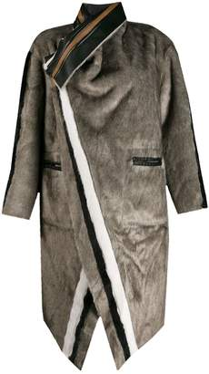 Urban Code Urbancode reversible striped coat