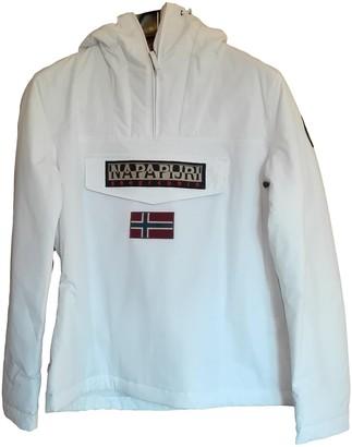 Napapijri White Jacket for Women