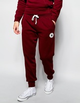 Converse Cuffed Joggers - Red