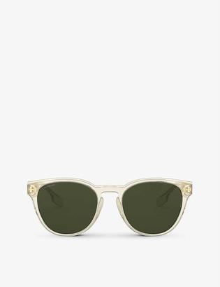 Burberry BE4310 round-frame sunglasses