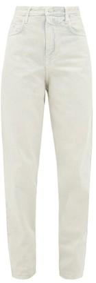 Etoile Isabel Marant Corsy High-rise Jeans - Ivory