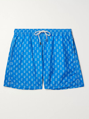 Anderson & Sheppard Printed Swim Shorts