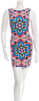 Mara Hoffman Printed Cutout Mini Dress