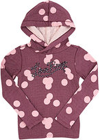 "Scotch R'Belle ""LOVE ROCK\"" HOODIE-PINK SIZE 8"