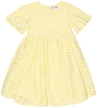 Tartine et Chocolat Broderie-anglaise cotton dress