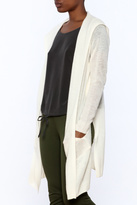 White + Warren White Cashmere Cardigan