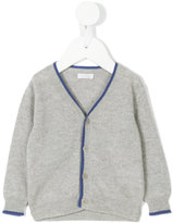 Il Gufo blue trim cardigan