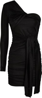 Significant Other Arta Ruched One-Shoulder Mini Dress