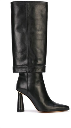 Jacquemus Block Heel Pointed Boots