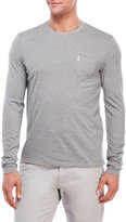 Ben Sherman Crew Neck Long Sleeve Tee