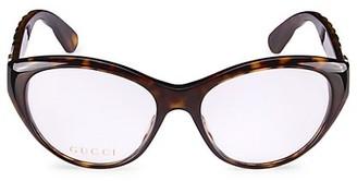 Gucci 54MM Cat Eye Eyeglasses