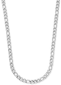 Sutton by Rhona Sutton Men's Stainless Steel Chain Necklace