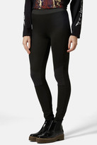 Topshop Biker Knee Ponte Leggings