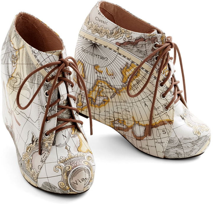 Jeffrey Campbell Mapmaking Your Move Wedge