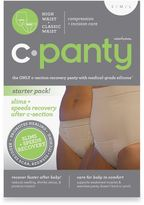 Upspring C-Panty 2-Pack Combo Classic and High Waist C-Section Panty in Nude