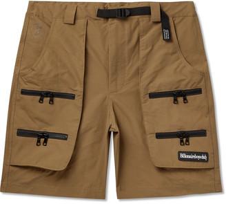 Billionaire Boys Club Logo-Appliqued Cotton And Nylon-Blend Shorts
