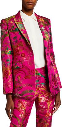 Etro Floral Brocade Blazer